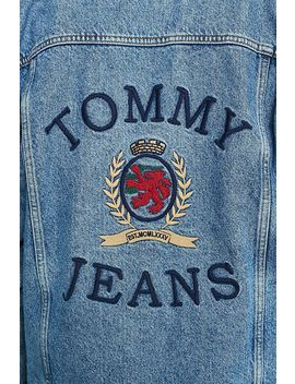 Tommy Jeans Crest Collection Flag Denim Trucker Jacket by Tommy Jeans