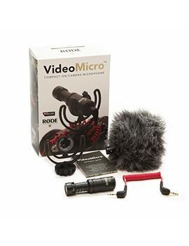 Rode Video Micro   Micrófono Para Cámaras Dslr, Color Negro by Rode Microphones