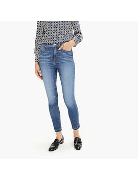 "10"" Higher Rise Toothpick Eco Jean With Let Down Hem by J.Crew"