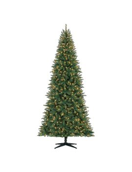 Holiday Time 9ft Pre Lit Williams Pine Artificial Christmas Tree With 550 Led Clear Lights   Green by Holiday Time