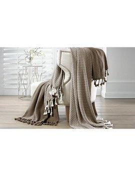 Pacific Coast Textiles Monacco 2 Pack Cotton Throw Blanket by Pacific Coast Textiles