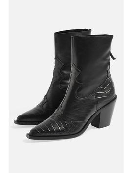 Marcel 2 Mid Ankle Boots by Topshop
