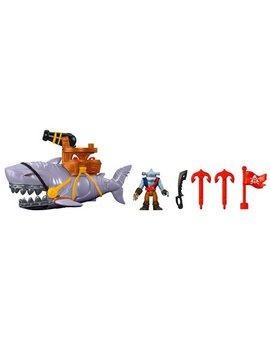 Imaginext Mega Mouth Shark And Figure by Imaginext
