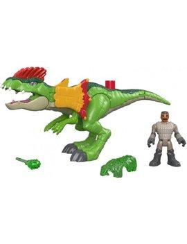 Imaginext Jurassic World Dilophosaurus & Agent by Imaginext