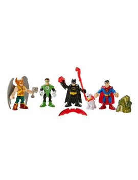Imaginext Dc Super Friends Heroes Action Figures Play Set by Imaginext