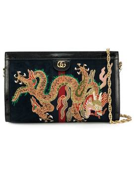 Ophidia Embroidered Shoulder Bag by Gucci