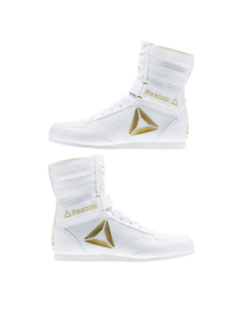 Reebok Boxing Boot Cn5080 White/Gold (Ufc + Boxing ) by Reebok