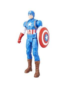 "Marvel Titan Hero Series 12"" Captain America Figure by The Avengers"