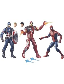 Marvel Legends 3 Pack: Spider Man, Captain America, And Iron Man by Captain America