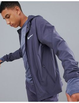 Nike Running Essentials Jacket In Grey 856892 081 by Nike