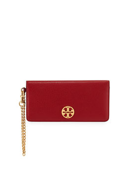 Chelsea Wristlet Envelope Clutch Bag by Tory Burch