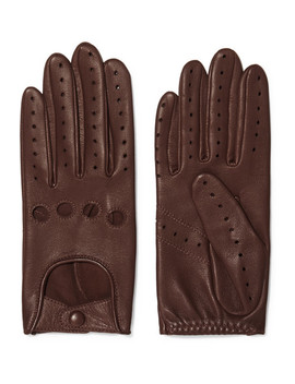 Faye Leather Gloves by Agnelle