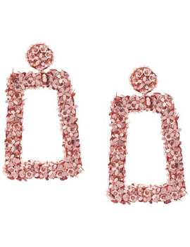 Floral Frame Earrings by Sachin & Babi