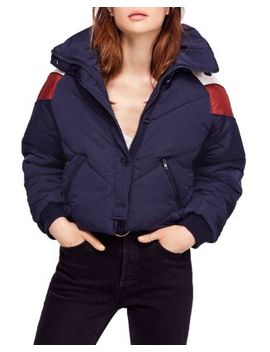 Heidi Ski Cropped Puffer Jacket by Free People