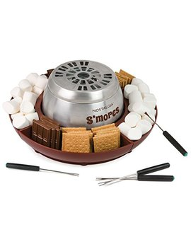 Nostalgia Lsm400 Electric Stainless Steel S'mores Maker by Nostalgia