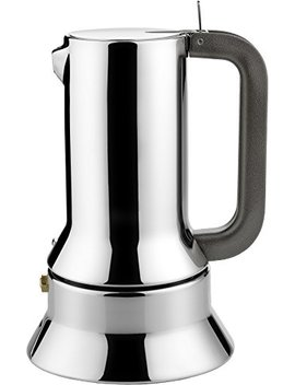 Alessi Espresso Maker 9090 By Richard Sapper, 6 Espresso Cups by Alessi