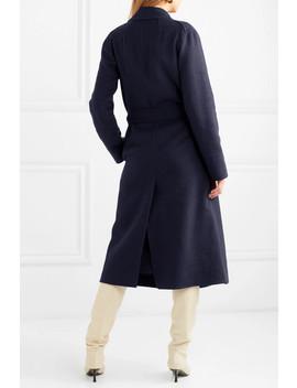 Vitala Belted Wool Blend Coat by By Malene Birger