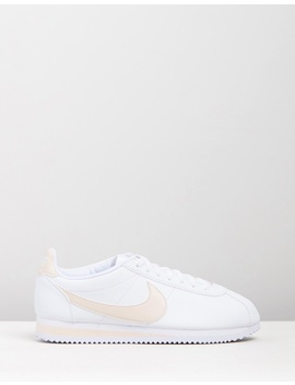 Classic Cortez Leather Shoes   Women's by Nike