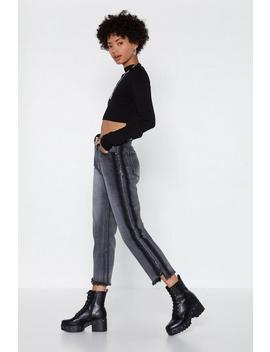 You Can Fray That Again Straight Leg Jeans by Nasty Gal