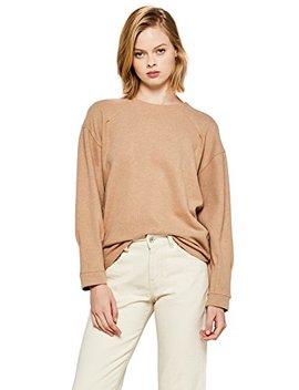 Find Women's Brushed Rib Sweatshirt by Find.
