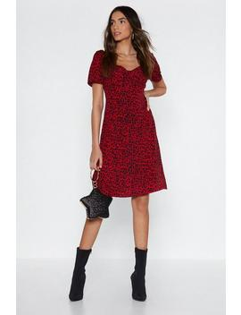 Cha Cha Leopard Dress by Nasty Gal