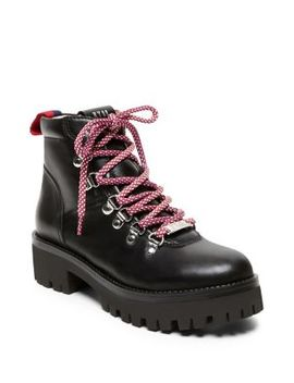 Bam Leather Boots by Steve Madden
