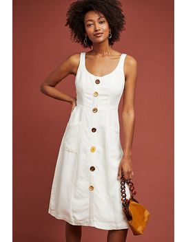 Antigua Buttondown Dress by Anthropologie