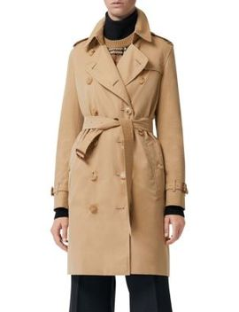 Kensington Cotton Trench by Burberry