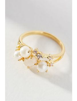 Birthstone Cluster Ring by Anthropologie