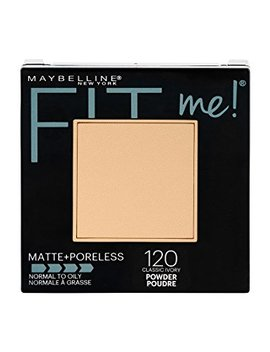Maybelline New York Fit Me Matte + Poreless Powder Makeup, Classic Ivory, 0.29 Oz. by Maybelline New York