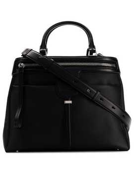 Zipped Compact Tote by Tod's