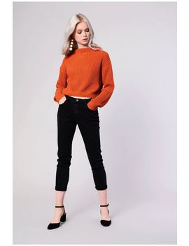 **Cropped Knit Jumper By Glamorous by Topshop
