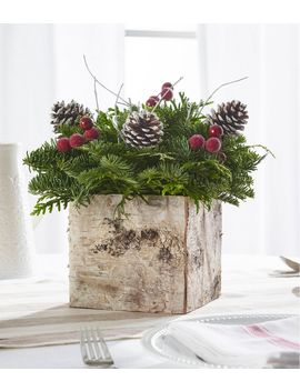 Birch Box Centerpiece by L.L.Bean