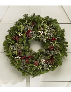 Woodland Eucalyptus Wreath by L.L.Bean