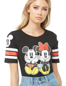 Mickey & Minnie Graphic Tee by Forever 21