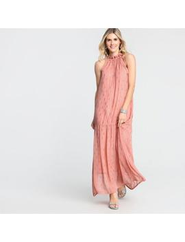 Blush Pink Estrella Halter Dress by World Market
