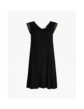 Lace Trim Stretch Modal Nightie by The White Company