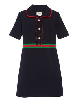 Merino Wool Polo Dress by Gucci