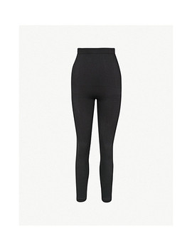 Look At Me High Waist Stretch Jersey Leggings by Spanx