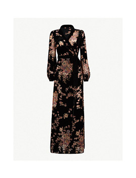 Kensington Gardens Silk Velvet Robe by Myla