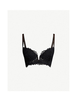Bellflower Padded Stretch Lace Bra by Livy
