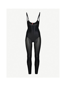 Suit Your Fancy Stretch Jersey Catsuit by Spanx
