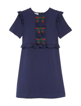 Ruffle & Bow Dress by Gucci
