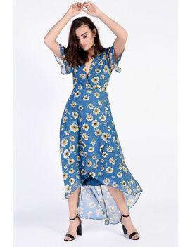 **Floral Maxi Dress By Glamorous by Topshop