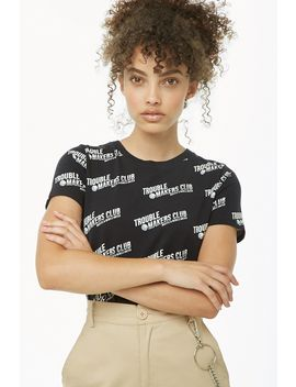 Trouble Makers Club Graphic Tee by Forever 21