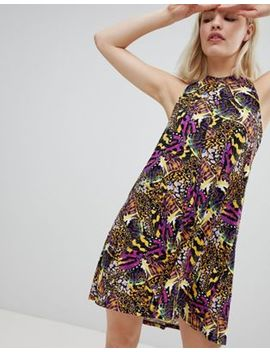 Monki Halter Neck Beach Dress by Monki