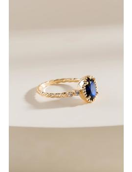 Taryn Oval Stone Ring by Francesca's