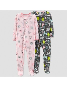 Baby Girls' Bear Pajama Set   Just One You™ Made By Carter's® Pink by Just One You Made By Carter's
