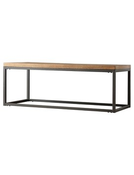Marvin Ridge Cocktail Table   Black   Inspire Q by Inspire Q