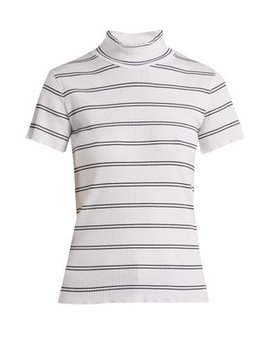 Clea Striped Cotton Blend Top by A.P.C.